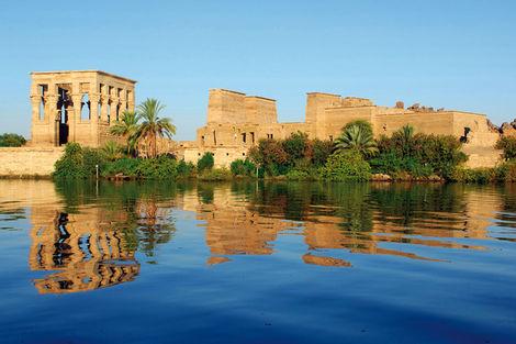 Croisière sur le fleuve d'Egypte