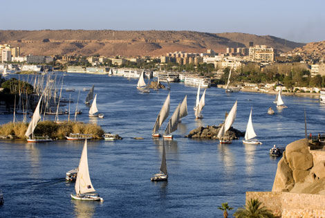 Croisière en Egypte : sur le Nil